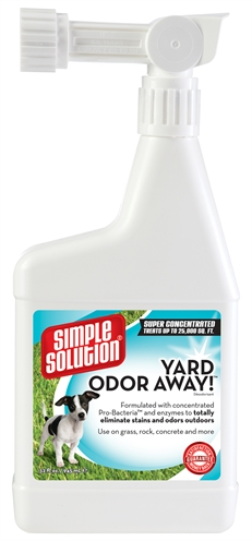 Simple solution yard odour away