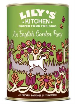 Lily's kitchen dog an english garden party (6X400 GR)