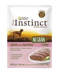 True instinct adult medium salmon terrine grain free (8X300 GR)